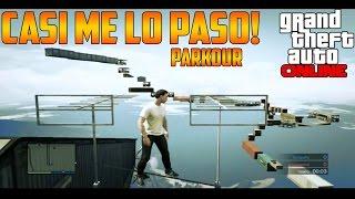 CASI ME LO PASO!! | PARKOUR GTA V ONLINE
