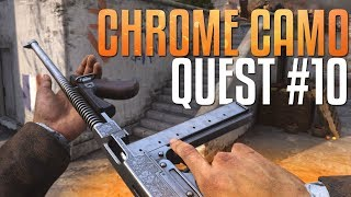 New Patch & Thompson: Chrome Camo Quest #10 (Call of Duty: WW2 Gameplay Stream)