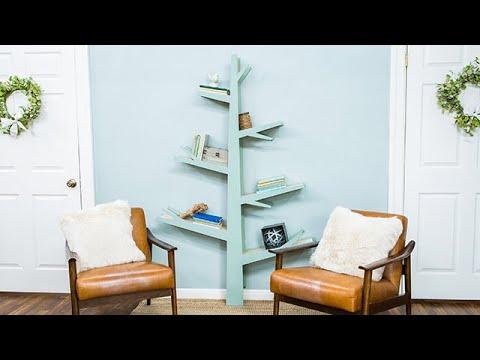 DIY Tree Bookshelf with Ken Wingard - Home & Family