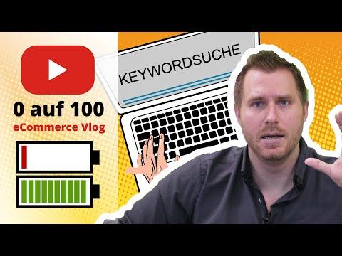 tricoma Vlog 0-100 #11: Keyword Auswertung - Nachfrage nach Produkten ermitteln - Unternehmensaufbau