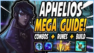 APHELIOS GUIDE! | How to play Aphelios correctly! Best Runes, Combos and Build! - League of Legends