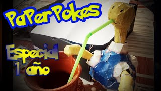 ESPECIAL 1 AÑO - Papercraft Pokemon Shuckle