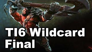 Escape EHOME - TI6 Wildcard Final Dota 2