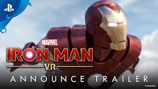 Marvel's Iron Man VR – Announce Trailer   PS VR