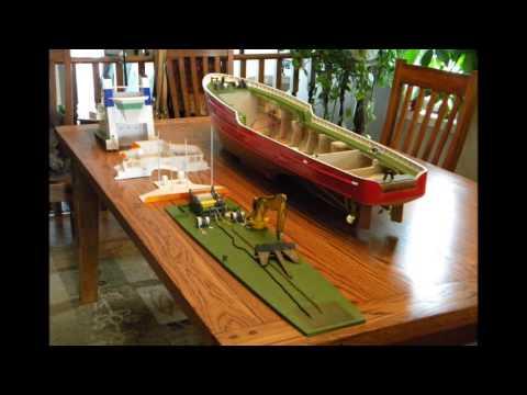 Building a ocean tug