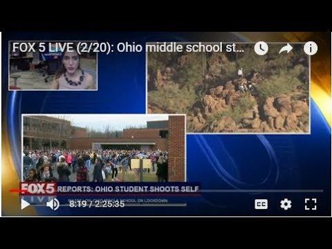 FOX 5 LIVE (2/20): Ohio middle school student shoots self;  Parkland students for gun reform