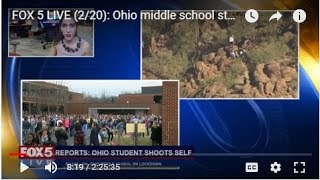 FOX 5 LIVE (2/20): Ohio middle school student shoots self;  Parkland students for gun reform