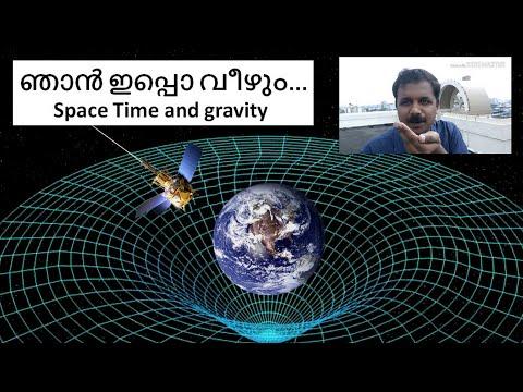 """""""ഞാൻ ഇപ്പൊ വീഴും..."""" - space time and gravity """"Know Science, Live Science"""""""