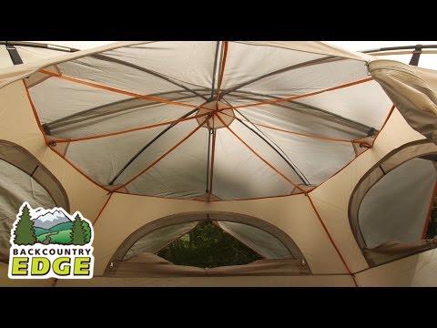 Eureka Sunrise EX 4 C&ing Tent & Eureka Sunrise EX 4 Camping Tent - YouTube