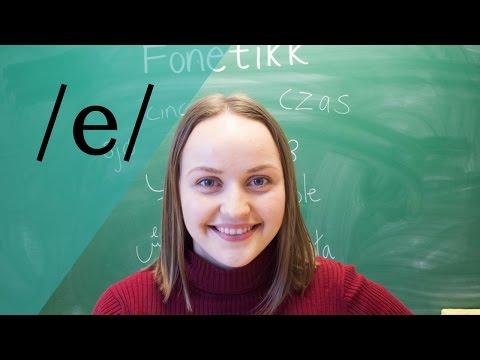 E-lyden /e/ | Fonetikk
