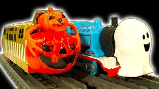 Thomas The Tank Ghost Engine Halloween Spooky Trains Leokimvideo Special