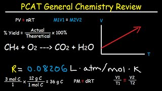 PCAT General Chemistry Review Test Prep Study Guide Course