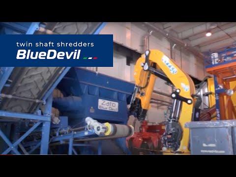 ZATO twin-shaft shredder