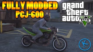 GTA 5 Fully Modified: SHITZU PCJ-600