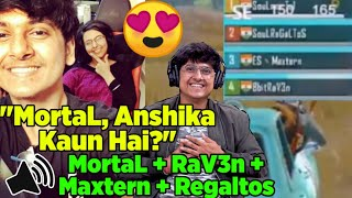 Download 😍MortaL & RaV3n Playing Together After MortaL Proposed Anshika | MortaL, Raven, Maxtern & Regaltos Mp3 and Videos