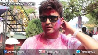 Mazzako Holi guff with Aaryan Sigdel || Holi 2072 || Mazzako TV