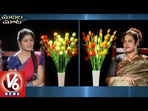 "Srihari Wife ""Disco Shanthi""  Exclusive Interview || Madila Maata || V6 News"