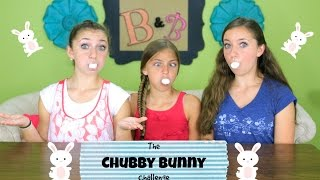 Chubby Bunny Challenge | Brooklyn and Bailey Thumbnail