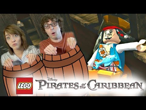 Stampy & Sqaishey - LEGO: Pirates Of The Caribbean ~ Ep 3