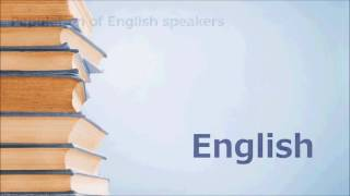 Benefits of Studying English for Our Future by: Midori