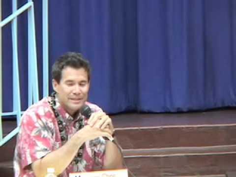 Chris Baron, Senator Sam Slom and Virginia Enos Part 3