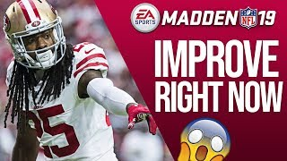 3 Pro Tips To Improve Your Defense Right Now In Madden 19!