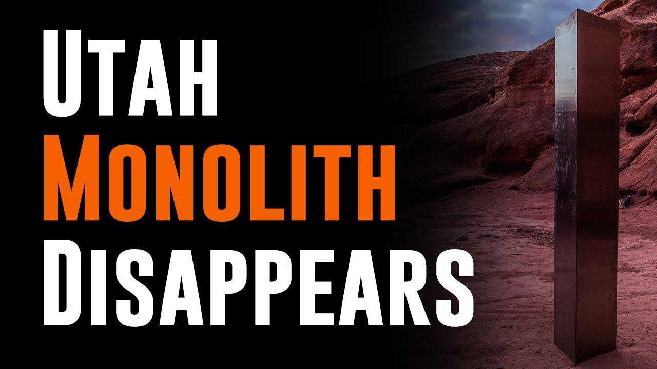 Mysterious Monolith Vanishes?