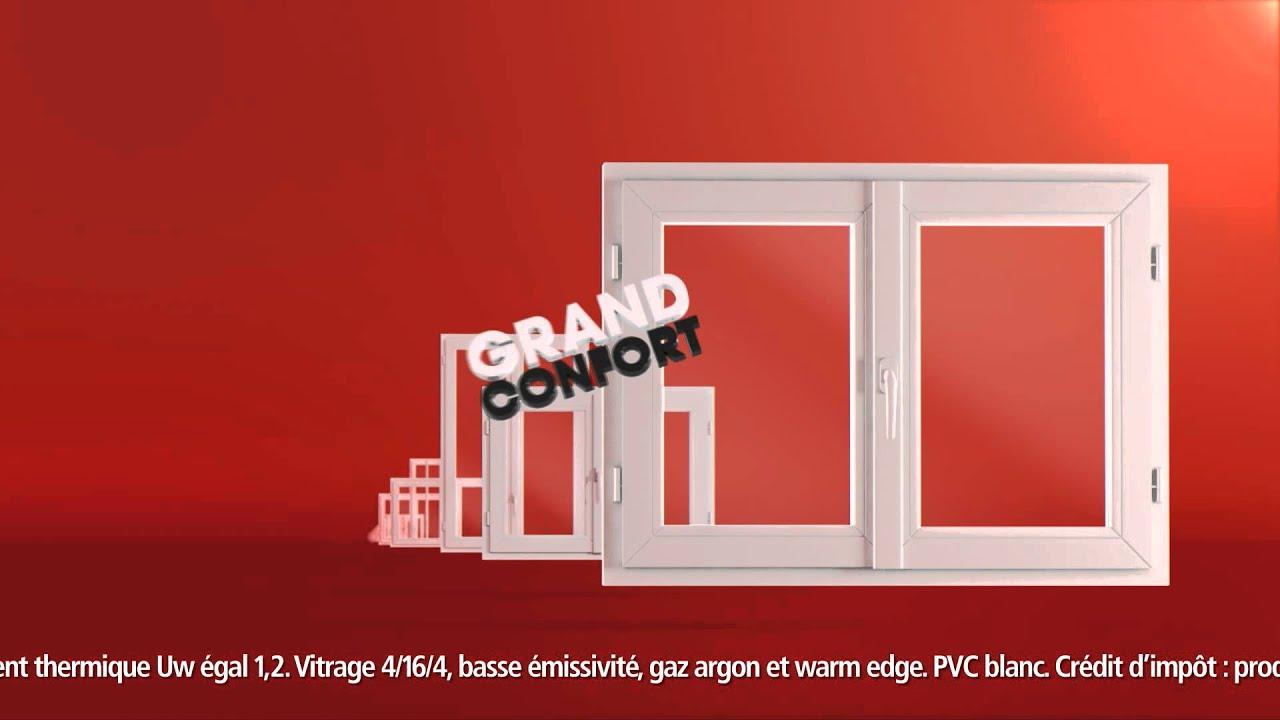 Grand Confort Brico Depot Fenêtre Pvc Youtube