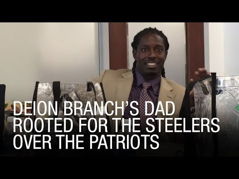 Deion Branch's Dad Rooted For The Steelers Over The Patriots