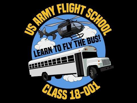 US Army Flight School Class 18-001 Section 2 Video