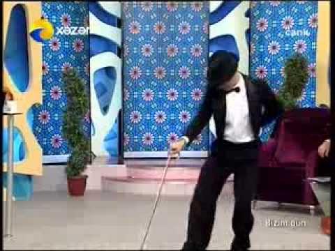 İlham Kerimli - Charli reqsi  (Xezer Tv Bizim Gun verlisi)