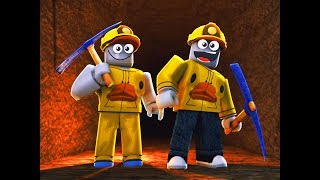 THE MINING CONTEST (Roblox Mining Simulator Funny Moments)