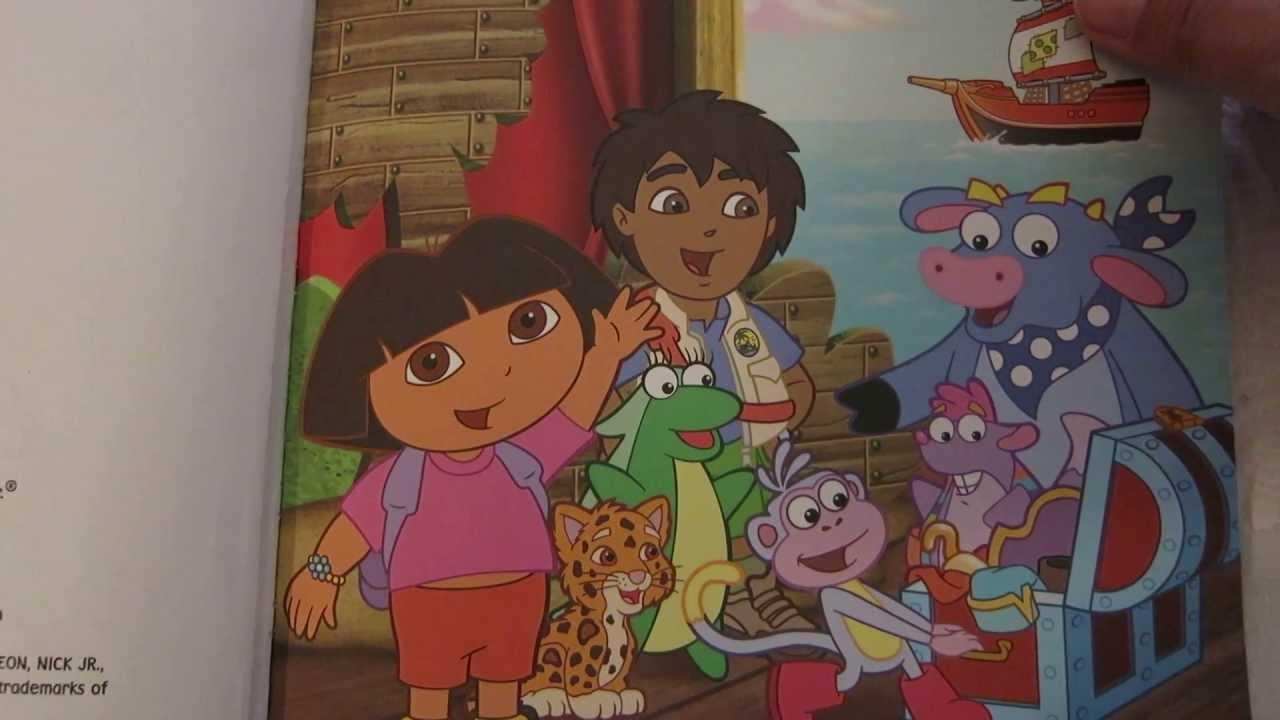 Dora the Explorer Doras Pirate Adventure Read aloud story