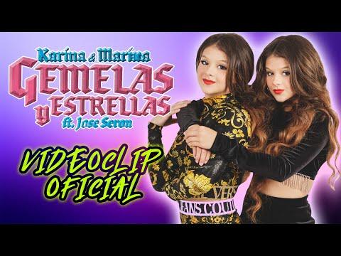 🎤 GEMELAS Y ESTRELLAS (Videoclip Oficial) 🎶 ✨NUEVA CANCIÓN de KARINA Y MARINA y Jose Seron