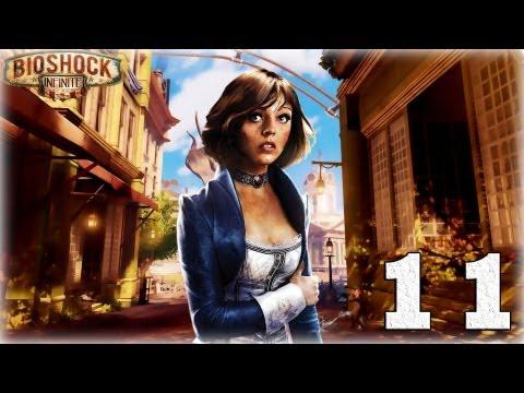 Смотреть прохождение игры Bioshock Infinite. Серия 11 - Оружейник. [Art let's play]