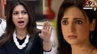 Sanaya Irani HATES Tanisha in BIGG BOSS 7 -- EXCLUSIVE VIDEO
