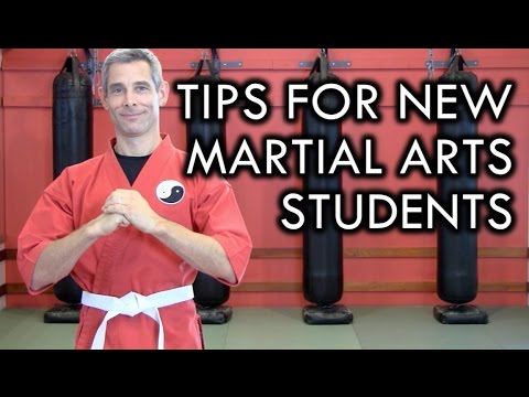 5 Class Tips for Beginner Martial Arts Students