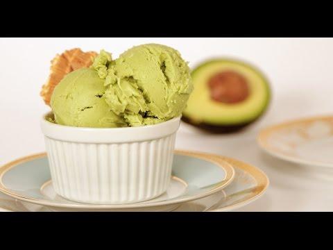 Avocado Ice Cream Recipe   Eat the Trend