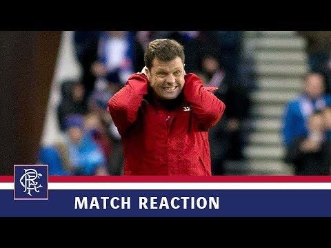 REACTION | Graeme Murty | Rangers 0-2 Hamilton