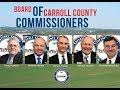 Board of Carroll County Commissioners Open Session Morning of February 22, 2018