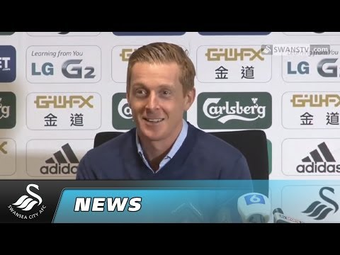 Swansea City Video: Garry Monk Cardiff preview