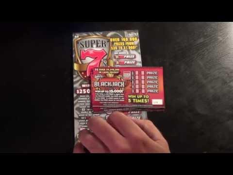 Ep. 1  BLACKJACK (5x) + SUPER 7's FL Lottery Scratch-Off Tickets