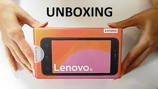 Lenovo Vibe B - Unboxing First Look
