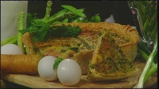 Mass Appeal Salmon And Asparagus Quiche