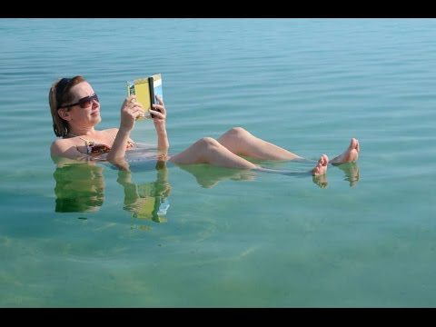 The Dead Sea, Israel Tour - Floating At The Spa