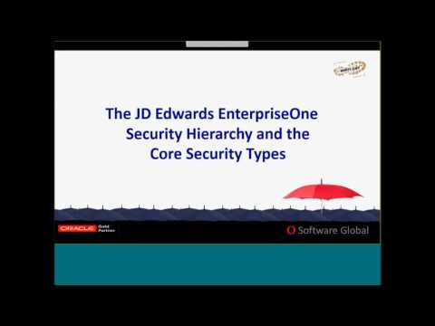 QSoftware & Quistor - JD Edwards E1 9.x Security Bootcamp