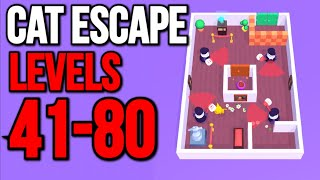 Cat Escape LEVELS 4180  Android IOS Gameplay (HD) Level Walkthrough