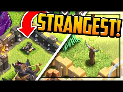 REVEALED! Clash of Clans STRANGE BUT TRUE then and Now | CoC |