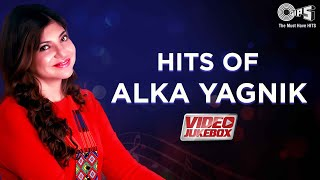 Alka Yagnik Hit Songs [Video Jukebox] Best Of AlkaYagnik | Blockbuster Hindi Songs | Official Tips
