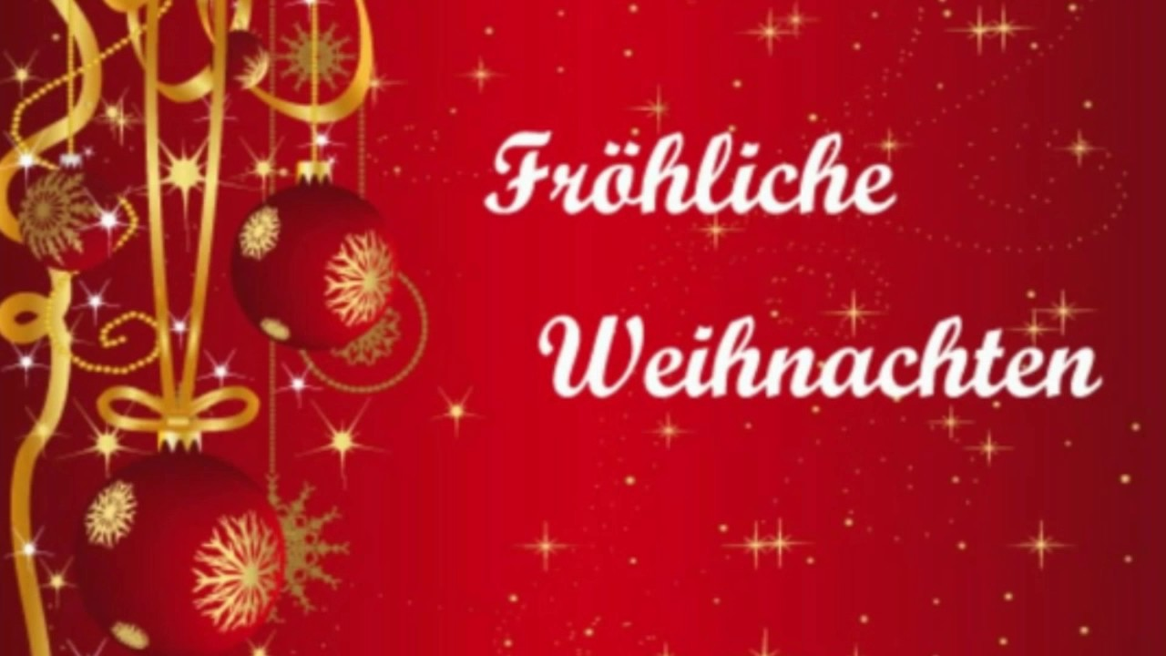 fr hliche weihnachten youtube. Black Bedroom Furniture Sets. Home Design Ideas